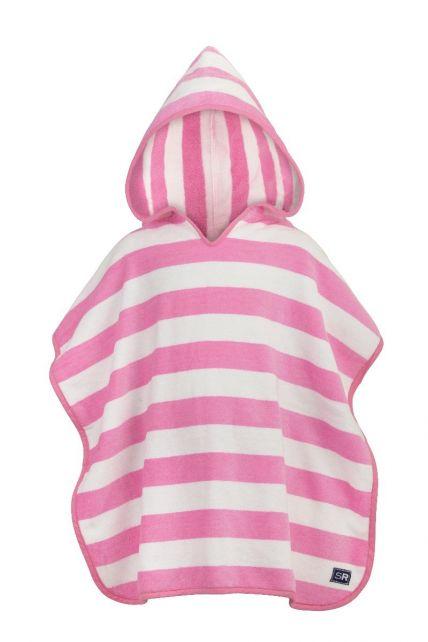Snapper-Rock---Hooded-badcape-roze-strepen