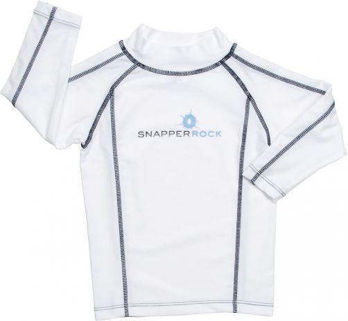 Snapper-Rock---UV-zwemshirt-voor-kinderen---wit-blauw