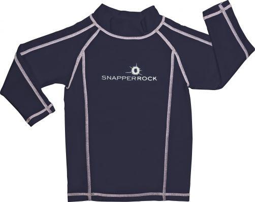 Snapper-Rock---UV-zwemshirt-voor-kinderen---donkerblauw-wit