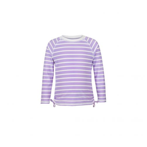 Snapper-Rock---UV-zwemshirt-voor-meisjes---Lavendel-strepen
