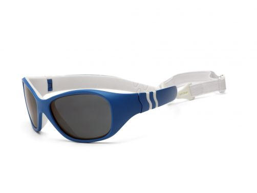 Real-Kids-Shades---UV-zonnebril-voor-peuters---Caribbean-blauw-/-wit