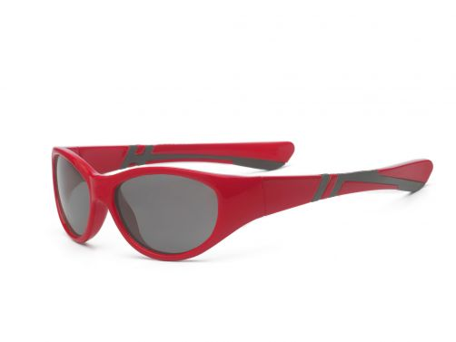 Real-Kids-Shades---UV-zonnebril-voor-peuters---Discover---Rood-/-zwart
