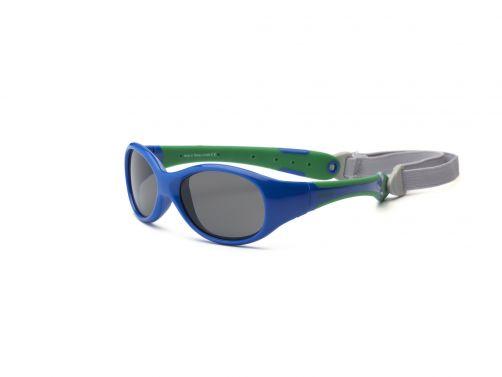 Real-Kids-Shades---UV-zonnebril-peuter---Explorer---Royal-blauw/groen