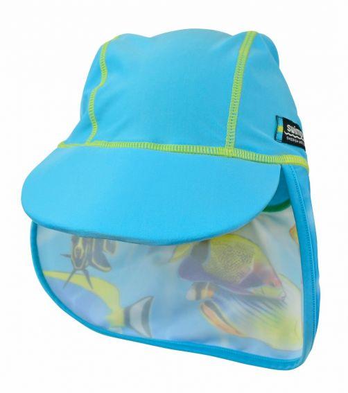 Swimpy---UV-zwemhoedje---Fish-Turquoise