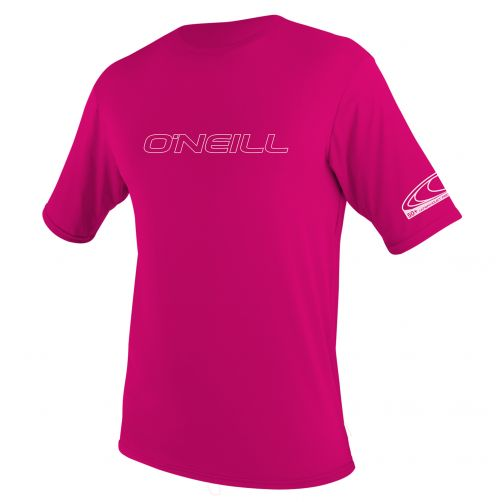 O'Neill---UV-werend-T-shirt-voor-jongens-en-meisjes-slim-fit---roze