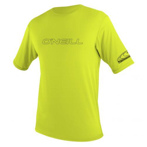 O'Neill---UV-shirt-voor-heren-met-korte-mouwen---lime-(groen/geel)