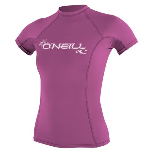 O'Neill---UV-werend-T-shirt-voor-dames-performance-fit---roze