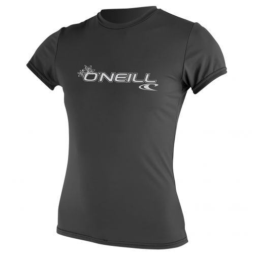 O'Neill---UV-werend-T-shirt-voor-dames-slim-fit---graphite