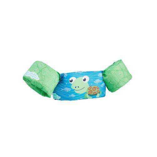 Puddle-Jumpers---Verstelbare-zwembandjes-met-schildpad---Groen