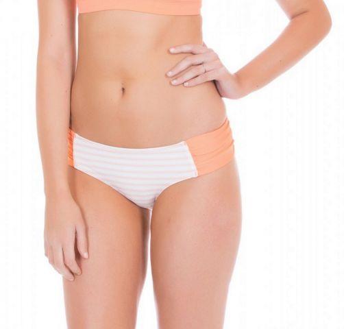 Cabana-Life---UV-Bikinibroekje-voor-dames---Wit/Oranje