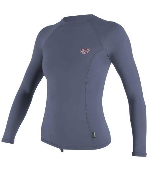 O'Neill---UV-shirt-voor-dames---Longsleeve---Premium-Rash---Grijsblauw