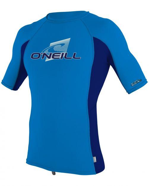 O'Neill---UV-shirt-voor-kinderen-met-korte-mouwen---Premium-Rash---Oceaanblauw