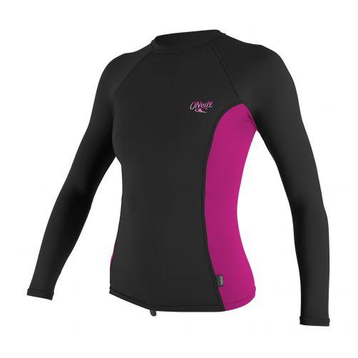 O'Neill---UV-werend-shirt-voor-dames---multicolor-(roze,-zwart)