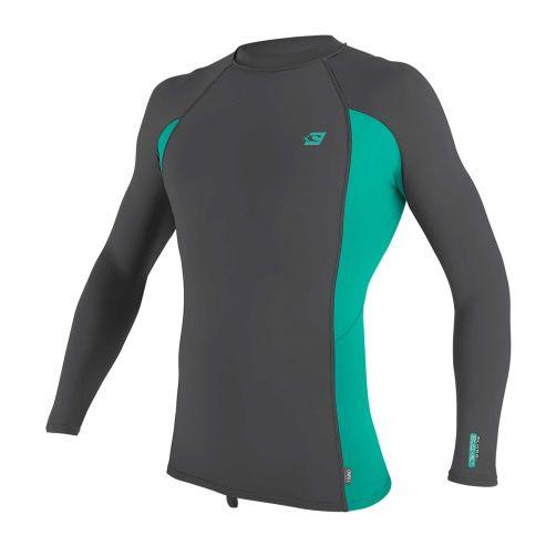 O'Neill---UV-shirt-voor-heren---Longsleeve---Premium-Rash---Grijs
