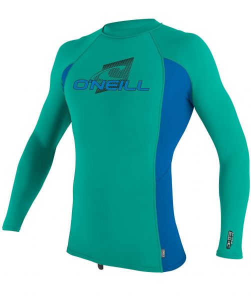 O'Neill---UV-shirt-voor-kinderen---Longsleeve---Premium-Rash---Baltisch-groen