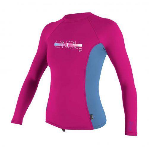 O'Neill---UV-shirt-voor-meisjes---Longsleeve---Premium-Rash---Roze