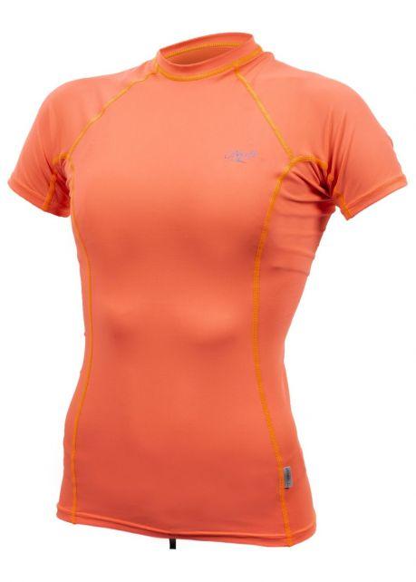 O'Neill---UV-shirt-voor-dames-met-korte-mouwen---Premium-Rash---Papaja