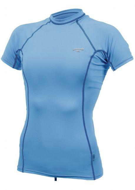 O'Neill---UV-shirt-voor-dames-met-korte-mouwen---Premium-Rash---Lichtblauw