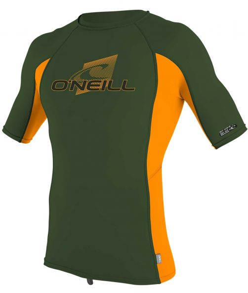 O'Neill---UV-shirt-voor-kinderen-met-korte-mouwen---Premium-Rash---Olijfgroen
