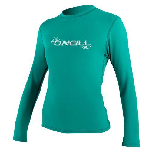 O'Neill---UV-shirt-voor-dames---Longsleeve---Basic-Sun---Aqua