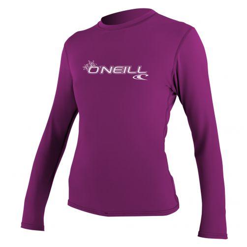 O'Neill---UV-werend-shirt-voor-dames-slim-fit---roze