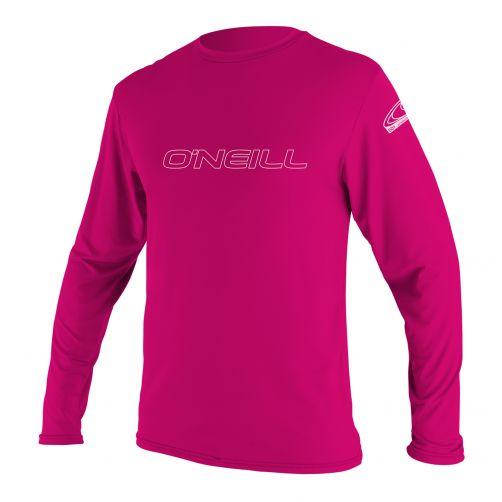 O'Neill---UV-werend-shirt-voor-jongens-en-meisjes-slim-fit---roze