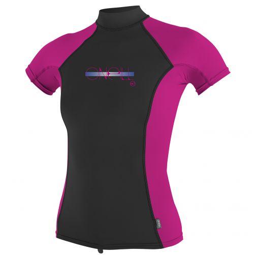 O'Neill---UV-werend-T-shirt-meisjes-Turtleneck---multicolor