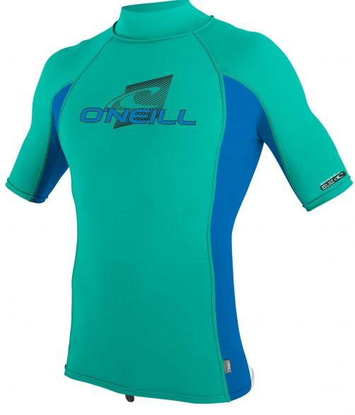 O'Neill---UV-shirt-voor-kinderen-met-hoge-hals---Premium-Rash---Baltisch-groen