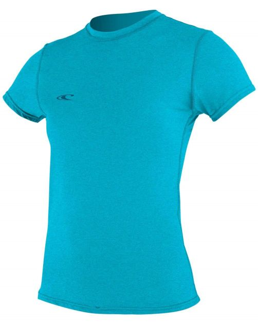 O'Neill---UV-shirt-voor-dames-met-korte-mouwen---Hybrid-Sun---Turquoise