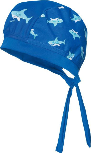 Playshoes---UV-zwembandana-voor-jongens---Haai---Blauw