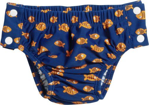 Playshoes---UV-zwemluier-voor-jongens---Wasbaar---Vissen---Blauw