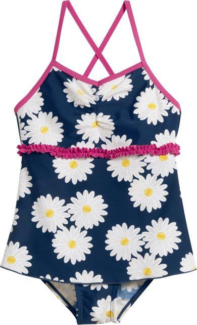 Playshoes---UV-badpak-voor-meisjes---Rokje---Margriet---Blauw/roze/wit