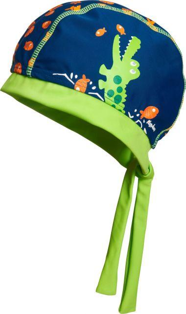 Playshoes---UV-zwembandana-voor-jongens---Krokodil---Blauw-/-groen