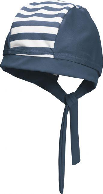 Playshoes---UV-zwembandana-voor-kinderen---Maritiem---Navy-blauw-/-wit