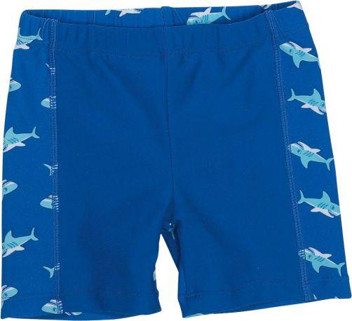 Playshoes---UV-zwemshort-voor-jongens---Haai---Blauw