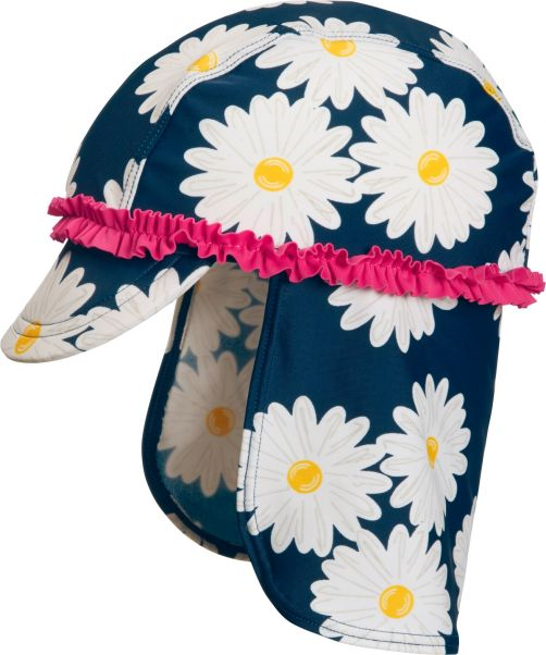 Playshoes---UV-zonnepet-voor-kinderen---Margriet---Blauw-/-roze-/-wit