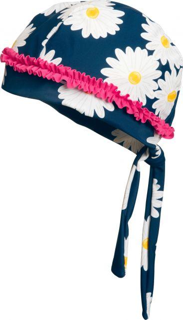 Playshoes---UV-zwembandana-voor-meisjes---Margriet---Blauw/roze/wit