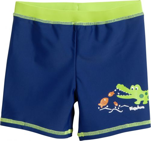 Playshoes---UV-zwemshort-voor-kinderen---Krokodil---Blauw