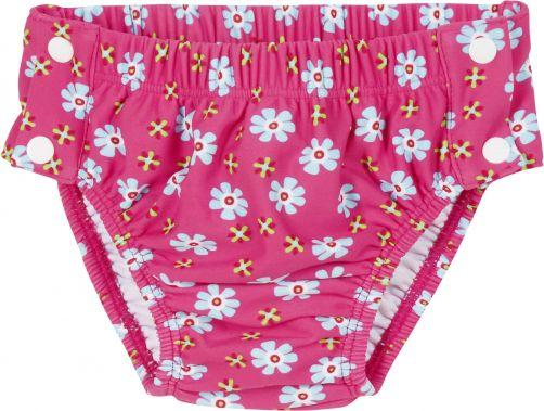 Playshoes---UV-zwemluier-voor-meisjes---Wasbaar---Bloemen---Roze