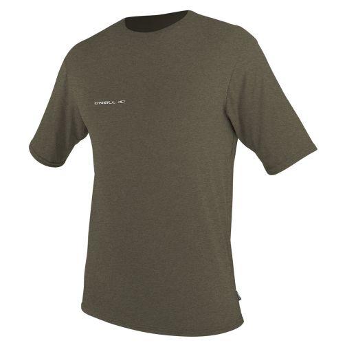 O'Neill---UV-shirt-hybrid-voor-heren-met-korte-mouwen---kaki