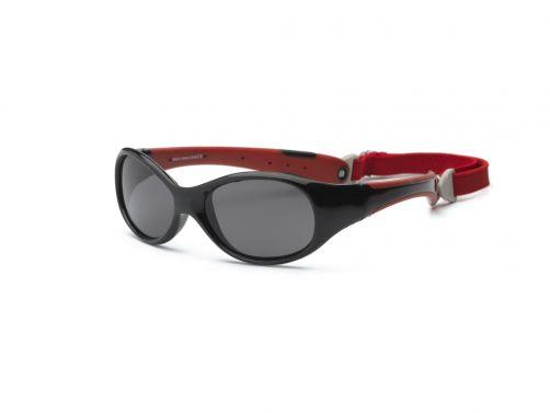 Real-Kids-Shades---UV-zonnebril-voor-kleuters---Explorer---Zwart/roze