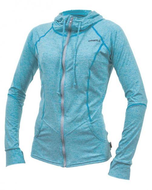 O'Neill---UV-werend-vest-voor-dames---Longsleeve---Hybrid-Sun---Turquoise