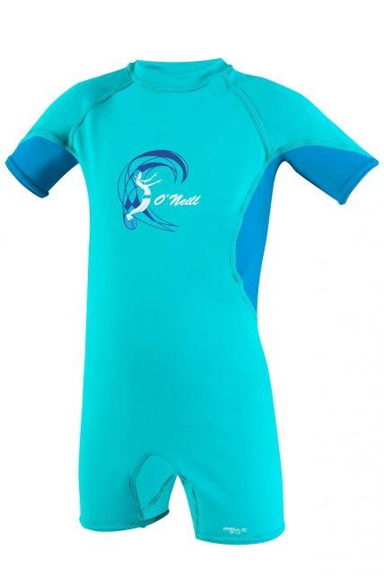 O'Neill---UV-zwempak-voor-meisjes---O'Zone-Spring---Lichtaqua