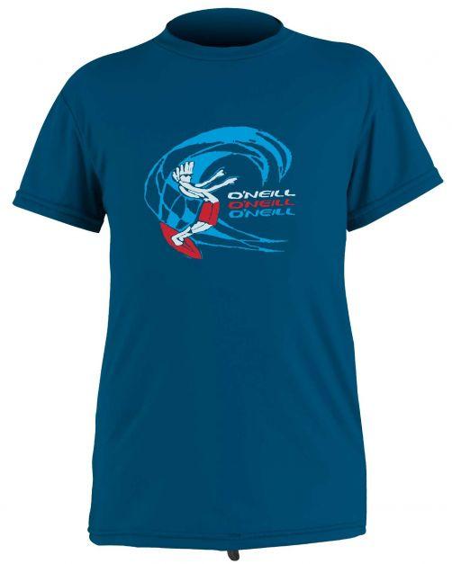 O'Neill---UV-shirt-voor-jongens-met-korte-mouwen---O'Zone-Sun---Donkerblauw