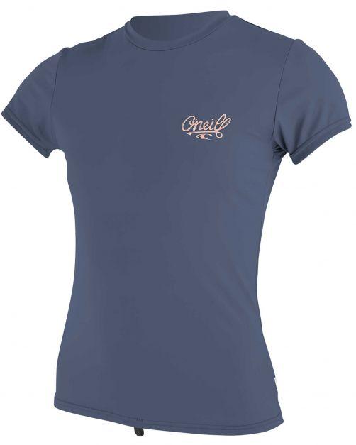 O'Neill---UV-shirt-voor-dames-met-korte-mouwen---Premium-Sun---Grijsblauw