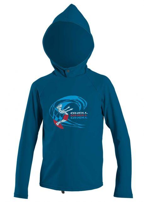 O'Neill---UV-shirt-met-capuchon-voor-jongens---O'Zone-Sun---Donkerblauw