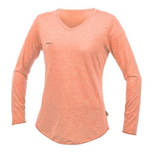 O'Neill---UV-shirt-voor-dames---Longsleeve---Hybrid-Sun---Grapefruit
