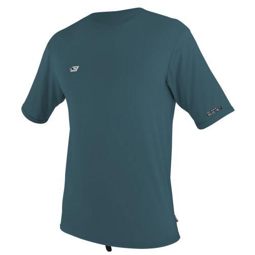 O'Neill---UV-shirt-voor-heren-met-korte-mouwen---blauwgroen