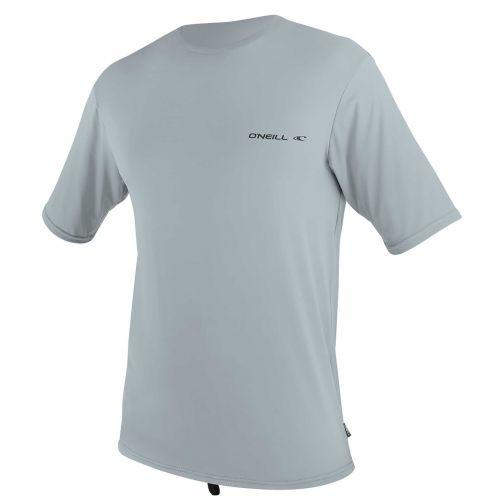 O'Neill---UV-shirt-voor-heren-met-korte-mouwen---Ltd-Striped-Hybrid---Grijs