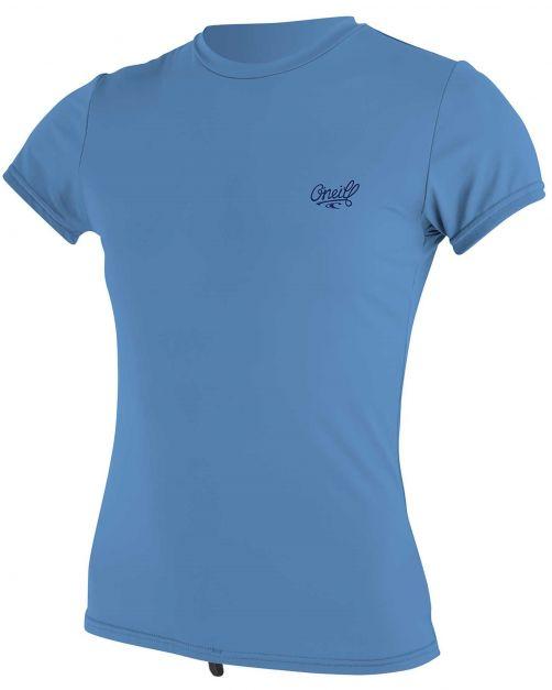 O'Neill---UV-shirt-voor-dames-met-korte-mouwen---Premium-Sun---Lichtblauw